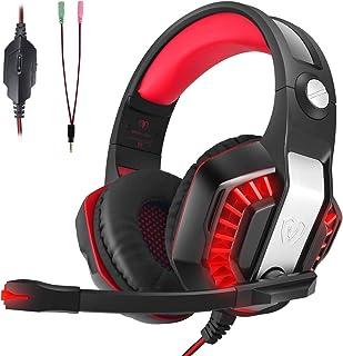 comprar comparacion Auriculares Gaming, LATEC Estéreo PS4 Cancelación De Ruido Gaming Headset para PC, Controlador de Xbox One, Tableta, Mac, ...