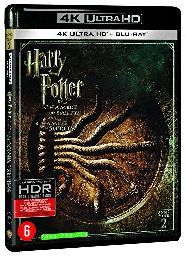 Harry Potter et la Chambre des Secrets - Année 2 - Le monde des Sorciers de J.K. Rowling - 4K Ultra HD [4K Ultra HD + Blu-ray + Digital UltraViolet]