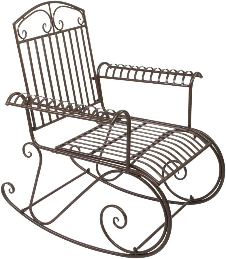 Gelsey Garden Outdoor Rocking Chairs with Limited time cheap sale Arms Patio San Jose Mall for Chair