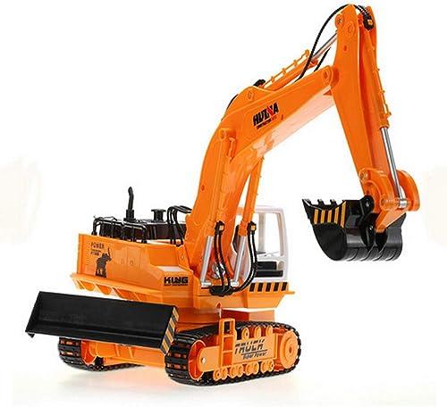 LXWM RC Excavator 1 16 11 Canaux Télécomhommede Excavatrice avec Charge 40M Jouets pour Garçons voiture Styling Rc Truck Autos
