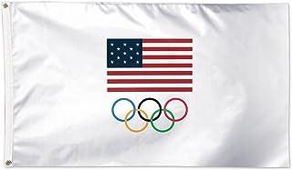 2016 USA Olympischen Flagge