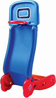 Grow'n Up 2-in-1 Basketball to Slide (2035) with Junior Sized Basketball - Easy to Convert from a Sturdy Slide to Playing a Game of Hoop (30
