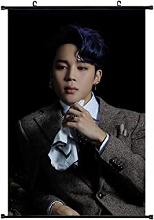 Chutoral Kpop Map of The Soul 7 Poster Prints, Wall Scroll Hanging Paintings Art Painting Wall Scroll Poster for Decorative, 40x60 cm(Jimin)