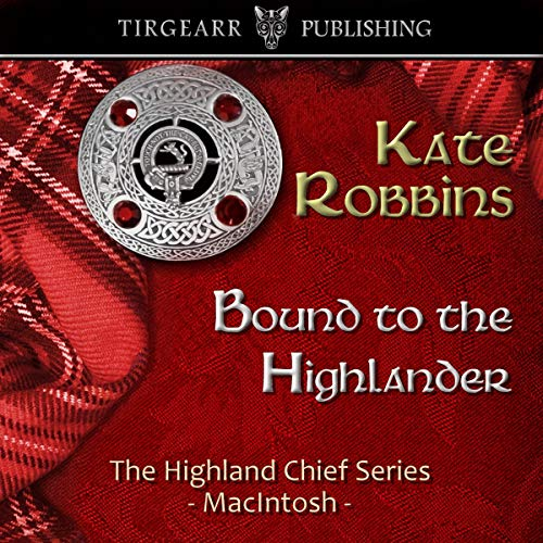 Bound to the Highlander audiobook cover art