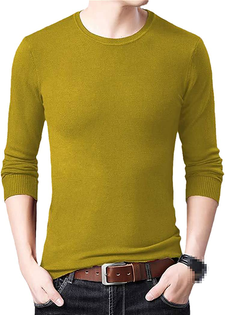 KGFDB Mens Casual Thin Striped Knitted Solid Pull Sweater Men Wear Jersey Pullover Mens Sweaters Male Fashions