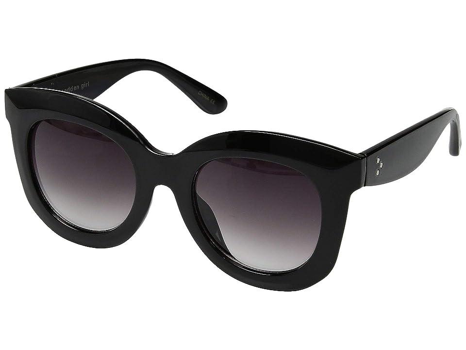 Steve Madden Madden Girl MG895116 (Black) Fashion Sunglasses