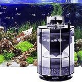 wgkgh Limpiador automático de succión para acuarios, Filtro de pecera, Barril de Filtro, Mantenimiento automático del Tanque de Acuario, Cartucho de Filtro biológico Multifuncional