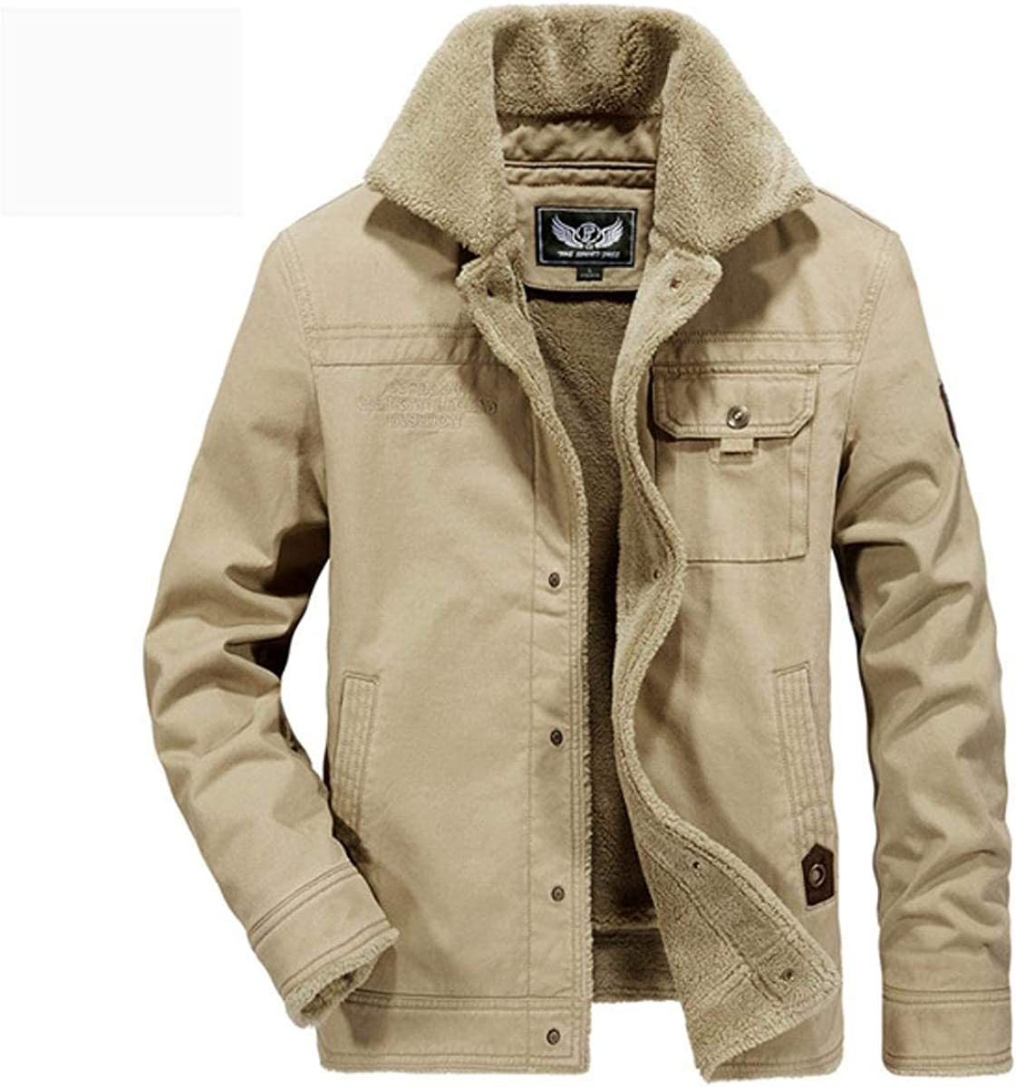 Winter Jacket Men Thick Warm New products, world's highest quality popular! Windbrea Fleece Coat Outwear Weekly update