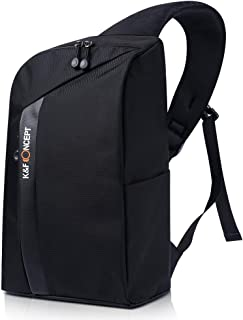 K&F Concept Camera Sling Backpack for DSLR Mirrorless Cameras, Lens, Accessories and 13.3'' Laptop with Removable Inner Bag