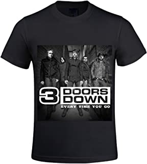 3 Doors Down Another 700 Miles Men T Shirts Crew Neck Digital Printed