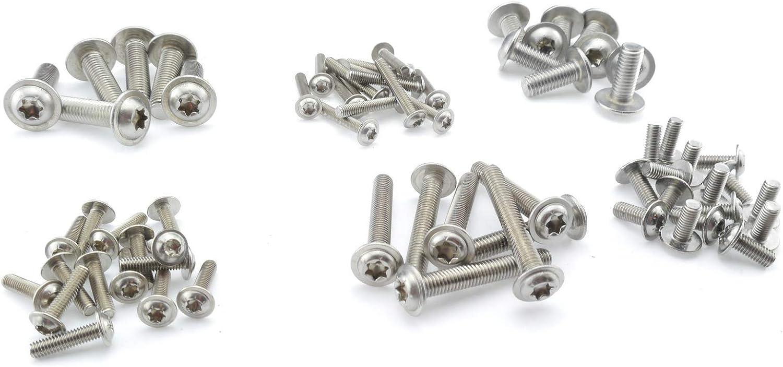 Edelstahl TORX Senkkopf-Schraube aus V2A 8-mm stark 70-mm Schrauben-L/änge 25 St/ück 50-mm Teil-Gewinde Holz-Schraube 8x70