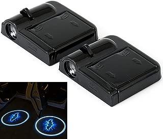 2pcs Wireless Car Door Led Welcome Laser Projector Logo Ghost Shadow Light Car-styling Car Interior Lamp Light (Batman)