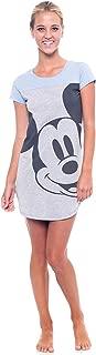 Junior Night Shirt Mickey & Minnie Mouse Print (Blue, Medium)