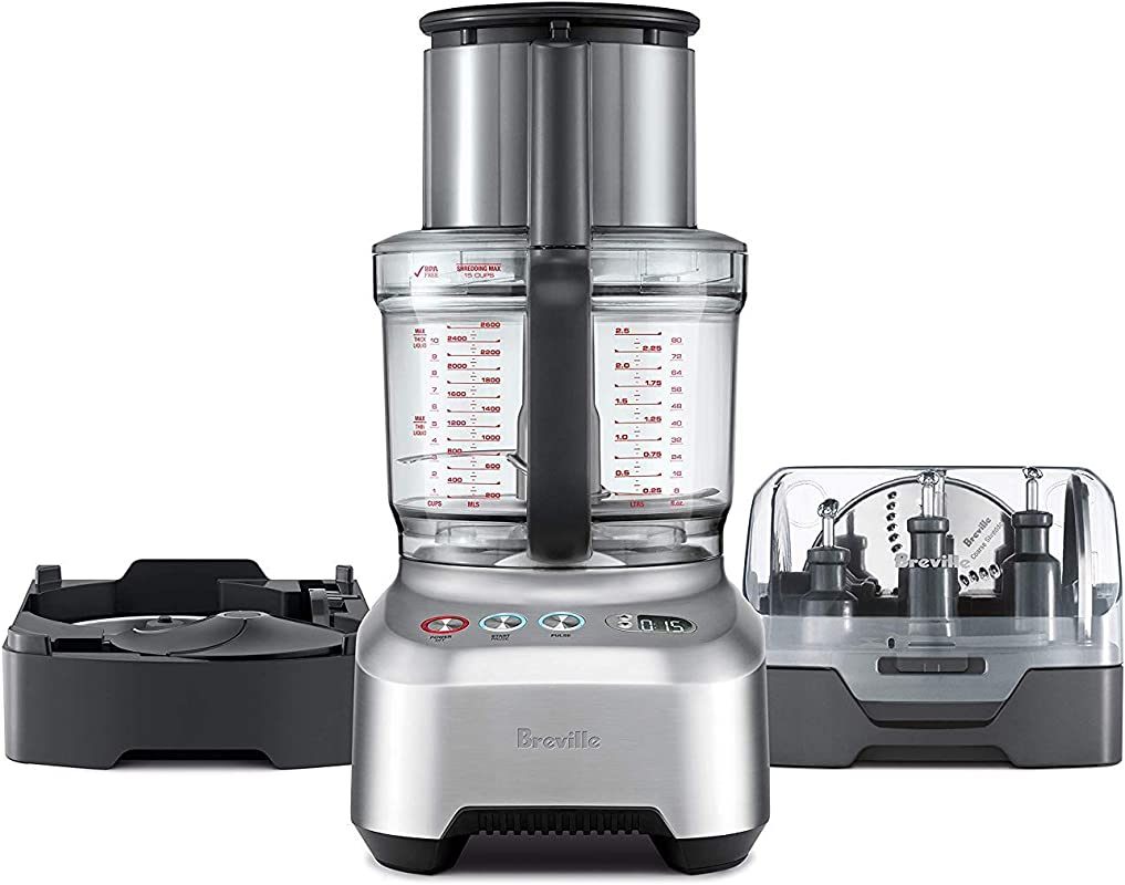 Breville Sous Chef 16 Peel Dice All In One Food Processor Bundle W Peeling And 12mm Dicing Attachment BFP820