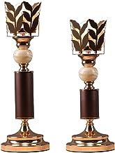 Estrymiw Candlestick Decoration European Iron Retro Creative Candle Holder Wind Light Wedding Props Candle Holder 16.53/18...