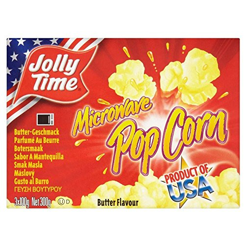 Lustige Zeit Mikrowellen-Popcorn - Butter (300 G)