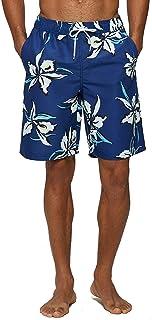 KISSMODA Mens Swim Trunks Quick Dry Beach Wear Shorts Swimwear Bathing Suits Boardshorts