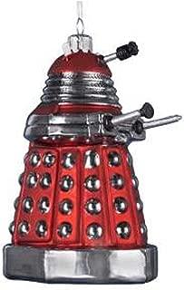 Doctor Who Kurt Adler 5-Inch Red Dalek Robot Ornament