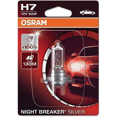 Osram Night Breaker Silver H1 100 Mehr Helligkeit Halogen Scheinwerferlampe 64150nbs 12v Pkw Faltschachtel 1 Lampe Auto