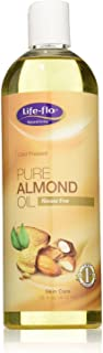 Life-Flo Pure Almond Oil - Cold Pressed - Hexane Free - 16 oz (Pack of 2)