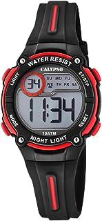 Calypso Reloj Digital para Unisex Niños de Cuarzo con Correa en Plástico K6068/6