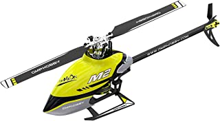 OMPHOBBY M2 V2 RC Helicopters Dual Brushless Motors RC Helicopter for Adults Direct-Drive 3D Remote Control Helicopter-BNF...
