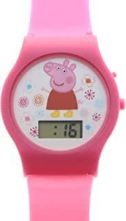 Peppa Pig Digital Watch with Printed Band on Blister Card