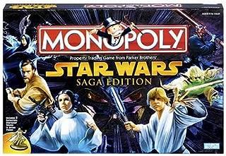 Hasbro Gaming Monopoly Game Star Wars Saga Edition
