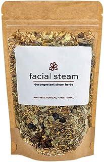 Decongesting Botanical Bath and Facial Steam | 4 Facial Steams or 3 Bath Teas | Common Cold + Seasonal Allergy Relief | US...