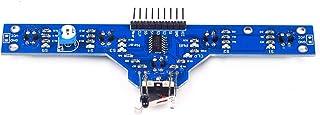 Morninganswer Cinq capteurs infrarouges de suivi / suivi / patrouille / prévention des obstacles / véhicule / robot, sensi...