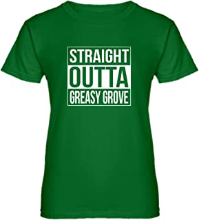 Womens Straight Outta Greasy Grove T-Shirt