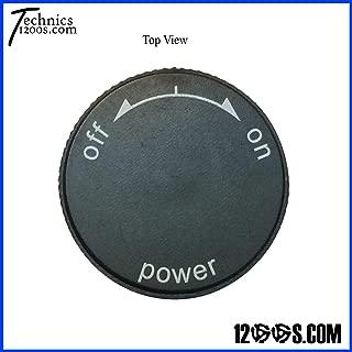Technics 1200 / 1210 MK2 Power On / Off Knob (CAP ONLY)