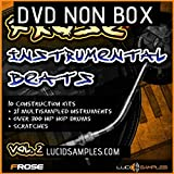HIP Sample Pack Frose Instrumental Beats Vol.2 - 10 nuevos ritmos instrumentales|WAV + GIG Files DVD...