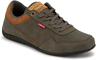 Levi's Mens Rio Waxed UL NB BT Athletic Inspired Fashion Sneaker Shoe