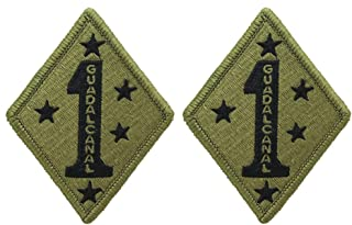 Best 1st marine division guadalcanal patch Reviews
