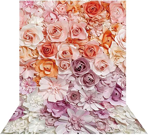 DaShan 6x8ft Arch Aisle Flowers Backdrop for Photography Children Baby Girls Photo Background Studio Props