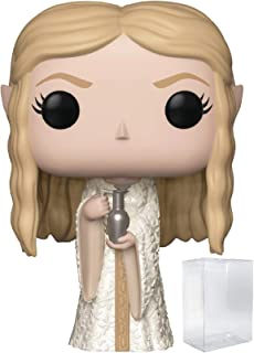 Funko Pop! Movies: The Lord of The Rings - Galadriel Vinyl Figure (Includes Pop Box Protector Case)