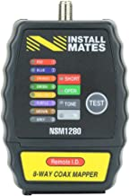 Nstallmates NSM1280 8-Way Coax Cable Tester w/ Case