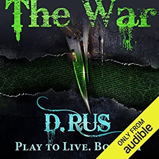 The War audiobook cover art