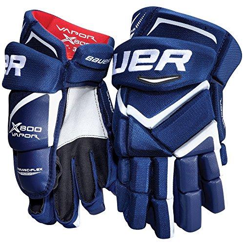 Bauer Vapor X800 Handschuhe Junior, Größe:12 Zoll;Farbe:schwarz/weiß
