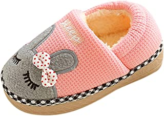 Cartoon Rabbit bag foot Slippers,G-real Toddler Baby Boys Girls Cute Cartoon Shark Shoes Soft Anti-slip Winter Home Shoes