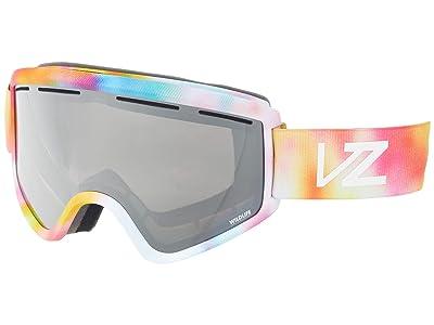 VonZipper Cleaver (Little Fluffy Clouds Satin/Wild Silver Chrome) Goggles