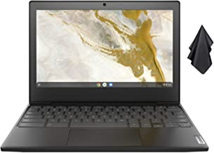 "2021 Newest Lenovo IdeaPad 3 Chromebook, 11.6"" HD Non-Touch Screen, AMD Dual-Core A6-9220C 1.8 GHz, 4GB RAM, 32GB eMMC Sto..."