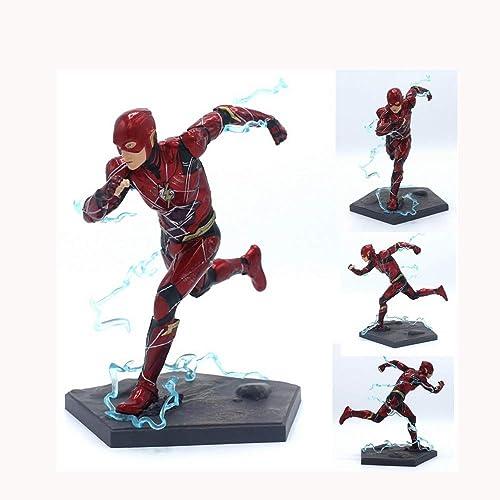 QRFDIAN Iron Studios DC Helden Justice League Film Edition Run Flash Flash-Handspielzeug