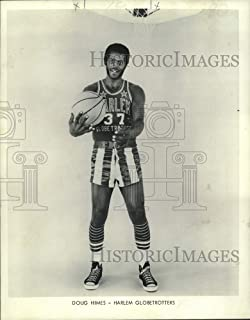 Historic Images - 1973 Press Photo Doug Hines, Harlem Globetrotters