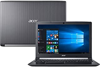 "Notebook Acer Aspire 5, A515-51-75RV, Intel Core i7 7500U, 8GB RAM, HD 1TB, tela 15,6"" LED, Windows 10"