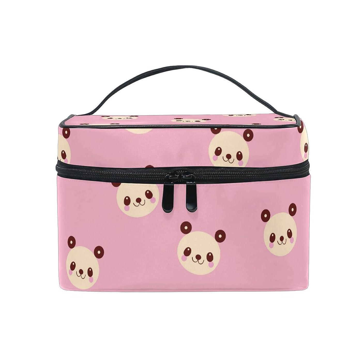 雇った集める白鳥ALAZA 化粧ポーチ 花柄 化粧 メイクボックス 収納用品 ピンク 大きめ かわいい