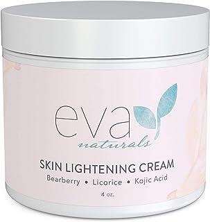 Crema Aclarante Piel Eva Naturals (4 oz) - Crema de Hiperpigmentación Manchas Oscuras en Cara y Cuello