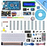 SunFounder Mega 2560 R3 Project Super Starter Kit with Mega 2560 Board Compatible with Arduino Mega 2560 R3 Mega328 Nano,25 Tutorials Included