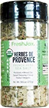 FreshJax Premium Gourmet Spices and Seasonings (Organic Herbes de Provence Sea Salt)